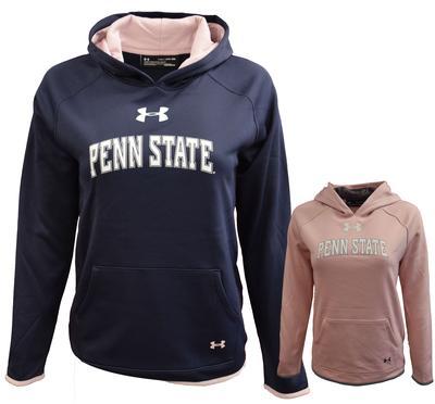 UNDER ARMOUR - Penn State Under Armour Youth Girls' Armour Fleece Hood