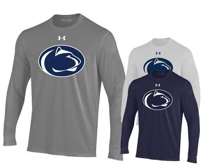 UNDER ARMOUR - Penn State Under Armour Men's Perf Logo Long Sleeve