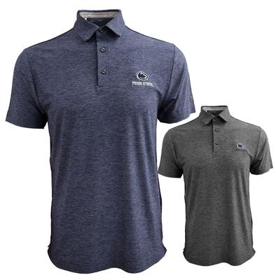 UNDER ARMOUR - Penn State Under Armour Men's Playoff Heathered Polo