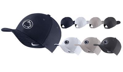 NIKE - Penn State Nike Adult Aerobill Sideline Hat