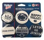 Penn State Variety Buttons 6 Pack