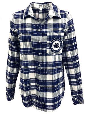 ZooZatz - Penn State Women's Warm Up Flannel Shirt