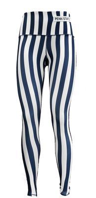 ZooZatz - Penn State Women's Spirit Stripe Leggings