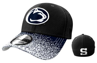 New Era Caps - Penn State Adult Visor Blur 2 Hat