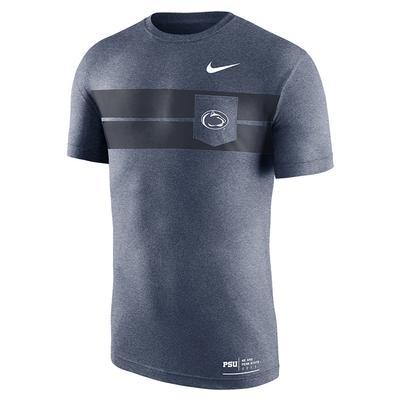 NIKE - Penn State Nike Men's Marled Essentials T-Shirt