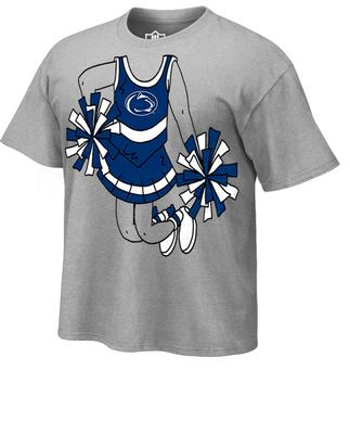 Wes & Willy Collegiate - Penn State Toddler Cheerleader T-Shirt