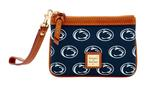 Penn State Dooney & Bourke Zip Top Card Case