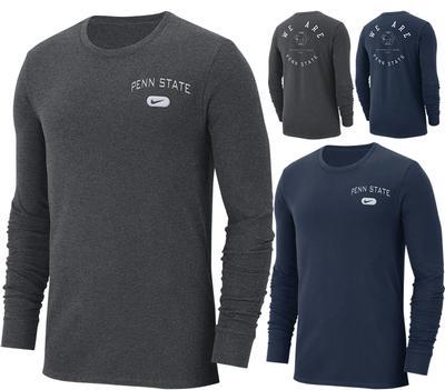NIKE - Penn State Nike Men's Heavy Weight Long Sleeve