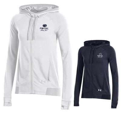 UNDER ARMOUR - Penn State Under Armour Women's Featherweight Full-Zip Hood