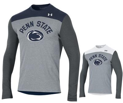 UNDER ARMOUR - Penn State Under Armour Men's Freestyle Long Sleeve