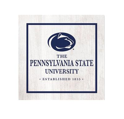 Legacy - Penn State 4 x 4 Wooden Ivy Table Top Sign