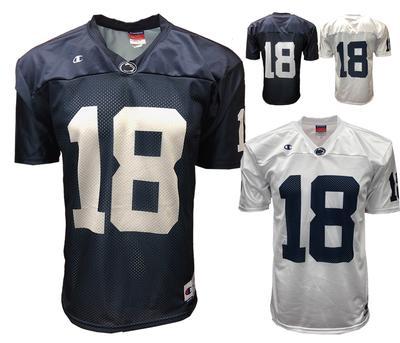 Champion - Penn State Adult Champion #18 Football Jersey