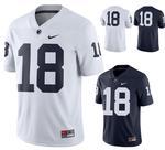 Penn State Men's Nike Replica #18 Football Jersey NAVY