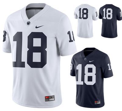 NIKE - Penn State Men's Nike Replica #18 Football Jersey