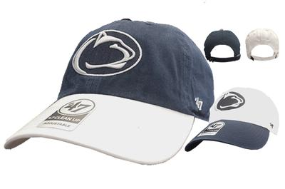 sports shoes 5fc18 99be4 Penn State Adult Two Tone Clean Up Hat Item   HATTWOTONECLEAN