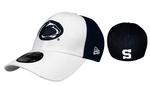 Penn State Adult 2T Sided Hat WHITENAVY