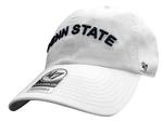 Penn State Adult '47 Clean Up Hat WHITE