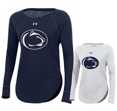 UNDER ARMOUR - Penn State Under Armour Women's Aviator Long Sleeve