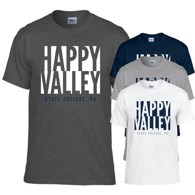 The Family Clothesline - Penn State Adult Inverted Happy Valley T-Shirt