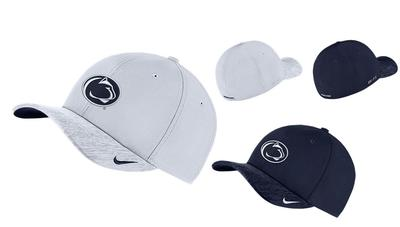 NIKE - Penn State Nike Adult Aerobill Stretchfit Hat