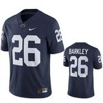 Penn State Nike #26 Saquon Barkley Football Jersey NAVY