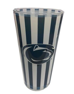 R.F.S.J. Inc. - Penn State 16 oz. Striped Mixing Glass