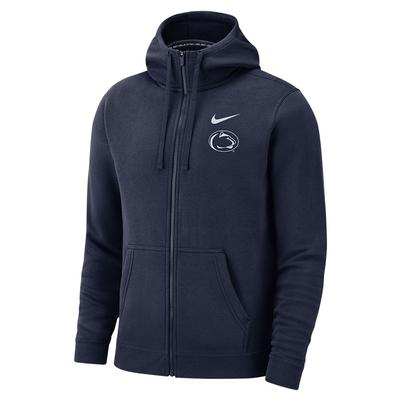 NIKE - Penn State Nike Men's Club Full-Zip Hood