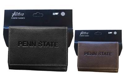 Jardine Gifts - Penn State Contrast Stitch Tri-Fold Wallet