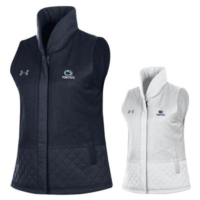 UNDER ARMOUR - Penn State Under Armour Women's Mixed Media Vest