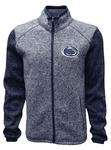 Penn State Men's Alpine Sweater Fleece Jacket NAVY
