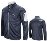 Penn State Men's Glacier Full-Zip Jacket NAVYWHITE