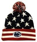 Penn State Adult Americana Knit Hat NAVYWHITERED