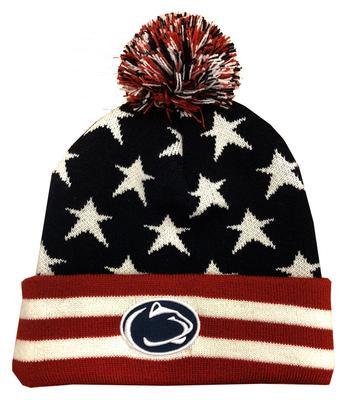 Legacy - Penn State Adult Americana Knit Hat