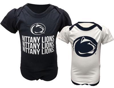 Garb - Penn State Infant Tonya Onesie 2 Pack Set