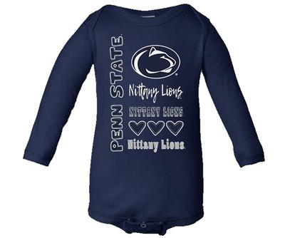 Colosseum - Penn State Infant Long Sleeve Onesie