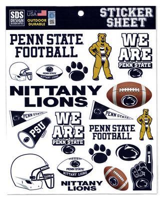 SDS Design - Penn State Football Sticker Sheet