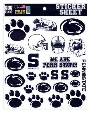 SDS Design - Penn State Standard Sticker Sheet