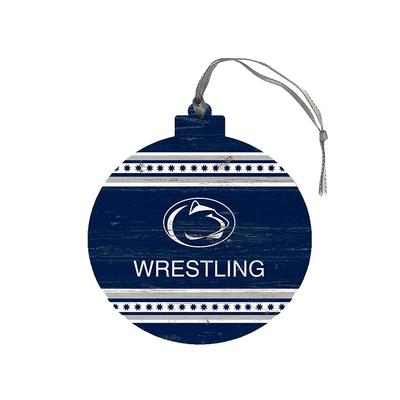Legacy - Penn State Wrestling Wooden Ornament
