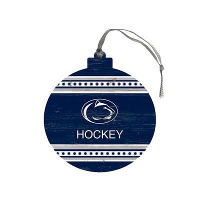 Legacy - Penn State Hockey Wooden Ornament