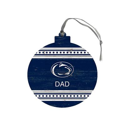 Legacy - Penn State Dad Wooden Ornament