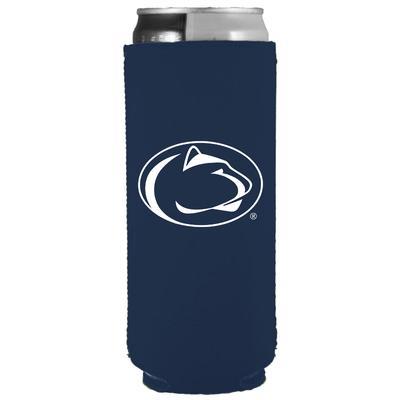 JayMac - Penn State Slim Logo Navy Koozie