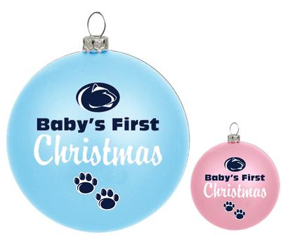 R.F.S.J. Inc. - Penn State Baby's First Christmas Ornament
