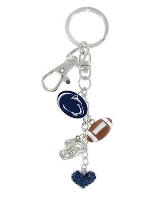 Rhinestone U - Penn State Football Combo Keychain