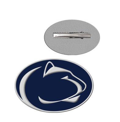 Rhinestone U - Penn State Enamel XXL Logo Alligator Clip