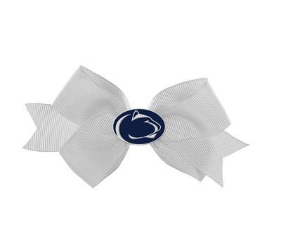 Rhinestone U - Penn State Enamel Logo Small Bow