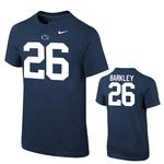Penn State Nike Youth Saquon Barkley #26 T-Shirt NAVY