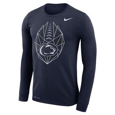 NIKE - Penn State Nike Men's Football Icon Long Sleeve