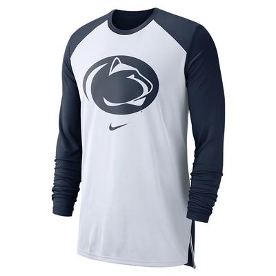 NIKE - Penn State Nike Men's Breathe Elite Long Sleeve