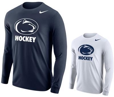 NIKE - Penn State Nike Men's Hockey Logo Long Sleeve