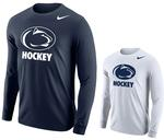 Penn State Nike Men's Hockey Logo Long Sleeve